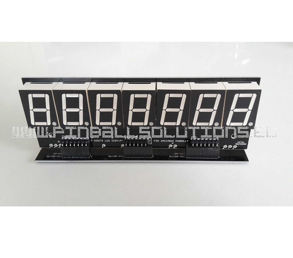 7 Digits Zaccaria LED displays