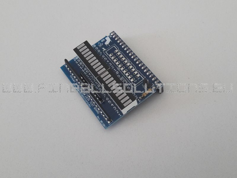 20 LEDs bargraph module for lamp & output testing