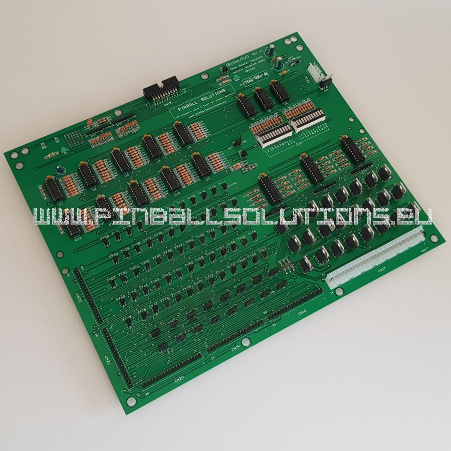 New Zaccaria Driver board 1B1166/evo for G2 pinball machines