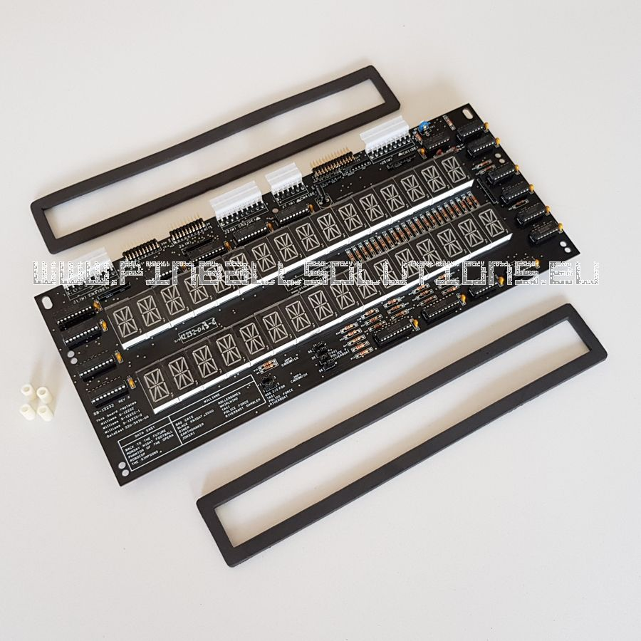 LED display for Williams / Data East pinball machines DB-12232