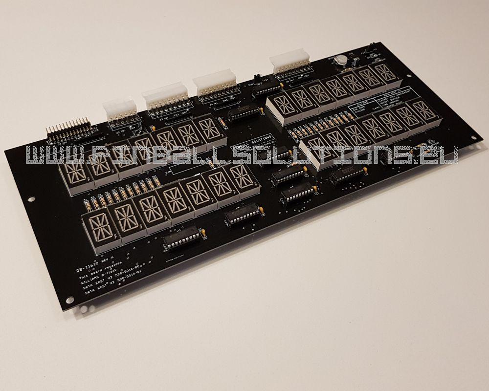 LED display for Williams / Data East pinball machines DB-11610