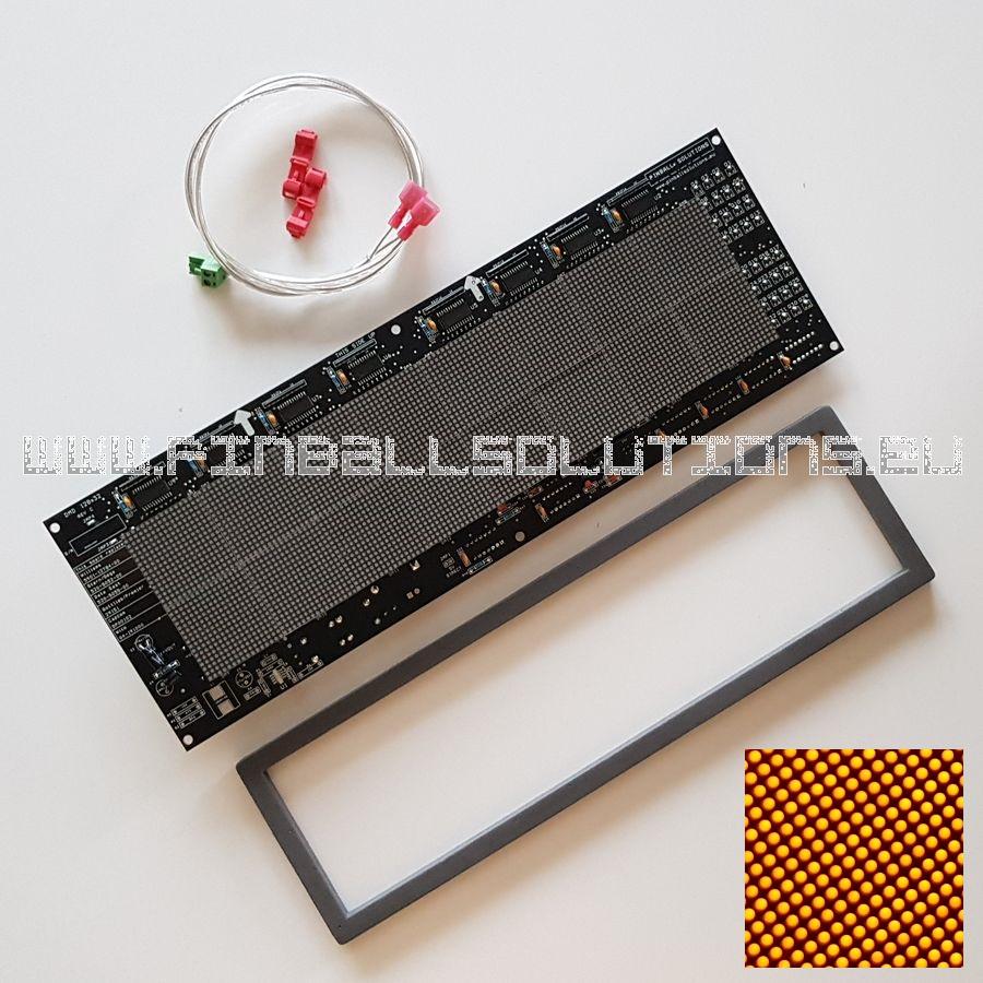 128×32 DOT Matrix pinball LED display (Orange)
