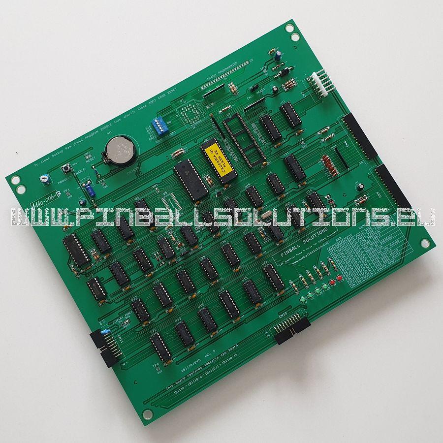 New Zaccaria CPU board 1B1110/evo for G1 pinball machines